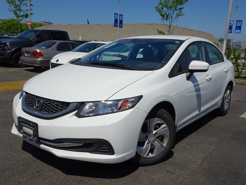 2014 Honda Civic Sedan LX CVT! Honda Certified Extended Warranty to #B12287