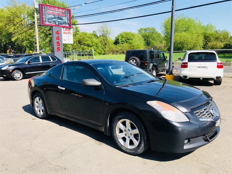 Nissan Altima 2008 Coupe-Sport-2.5L-Noir-Economique #4605-2