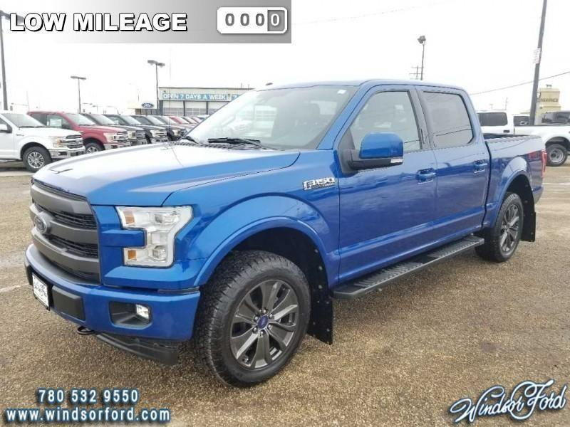 2017 Ford F-150 Lariat  - Sunroof - Low M #RT0148A