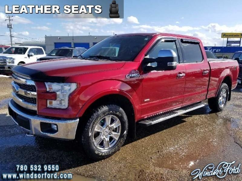2015 Ford F-150 Lariat  - Leather Seats - #RT0417A