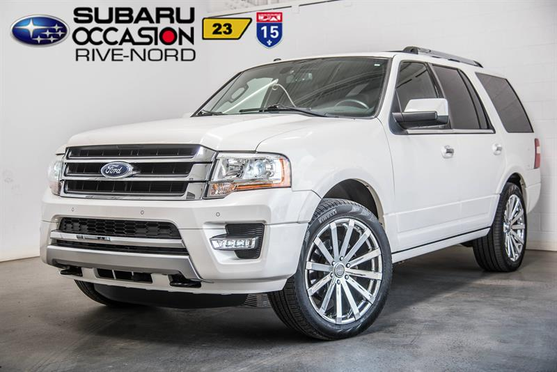 Ford Expedition 2015 Limited 8.PASS NAVI+CUIR+TOIT.OUVRANT #CONSIGNE-FB