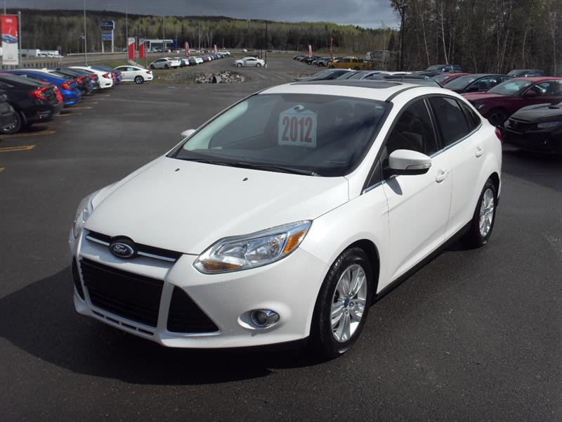 Ford Focus 2012 4dr Sdn SEL #H18078A