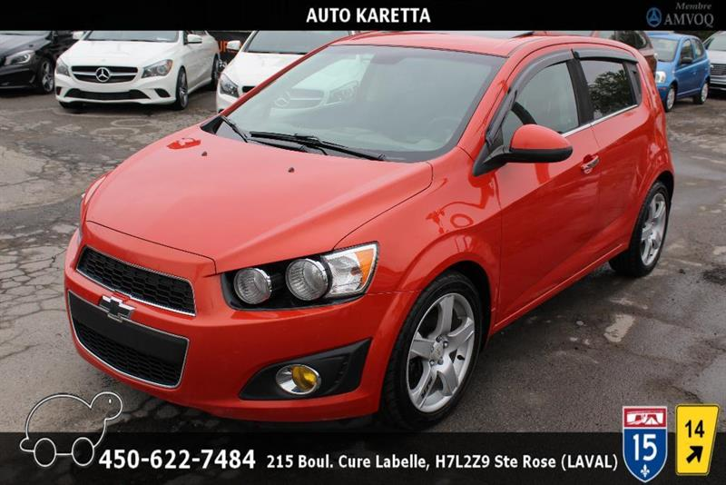 Chevrolet Sonic 2012 LT, TOIT OUVRANT, A/C, MAGS, C #AS6257A