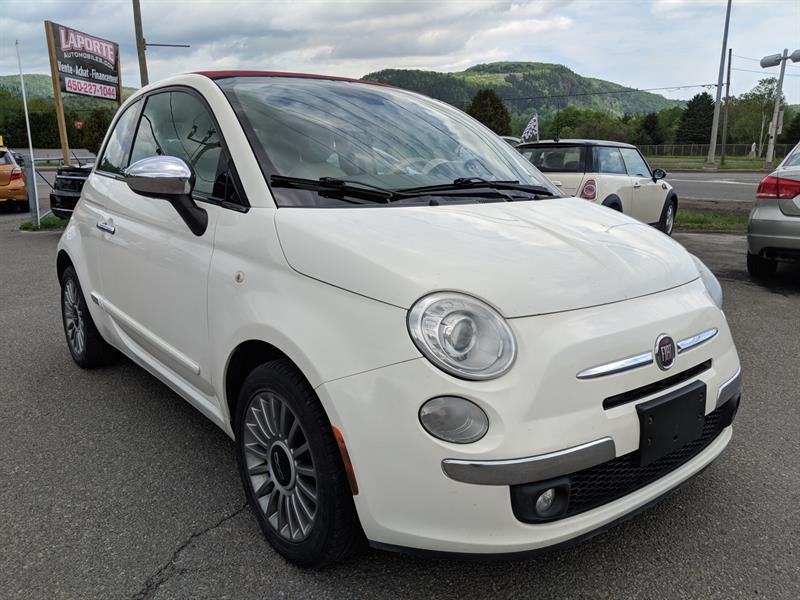 Fiat 500c 2012 LOUNGE CONVERTIBLE AUTOMATIQUE #A9053