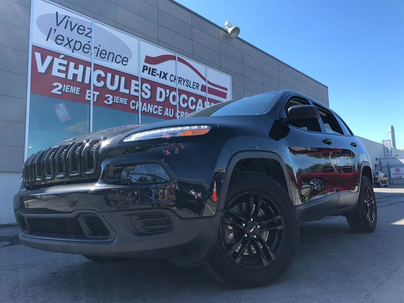 Jeep Cherokee 2016 4WD 4dr Sport+MAGS+ENSEMBLE TEMP FROID+WOW! #G0042