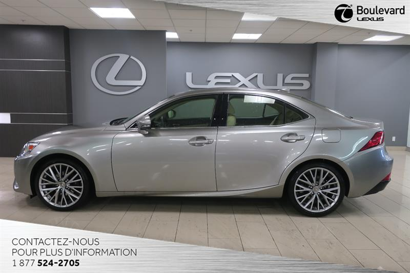2015 Lexus IS 250 AWD LUXE NAVIGATION #14633A