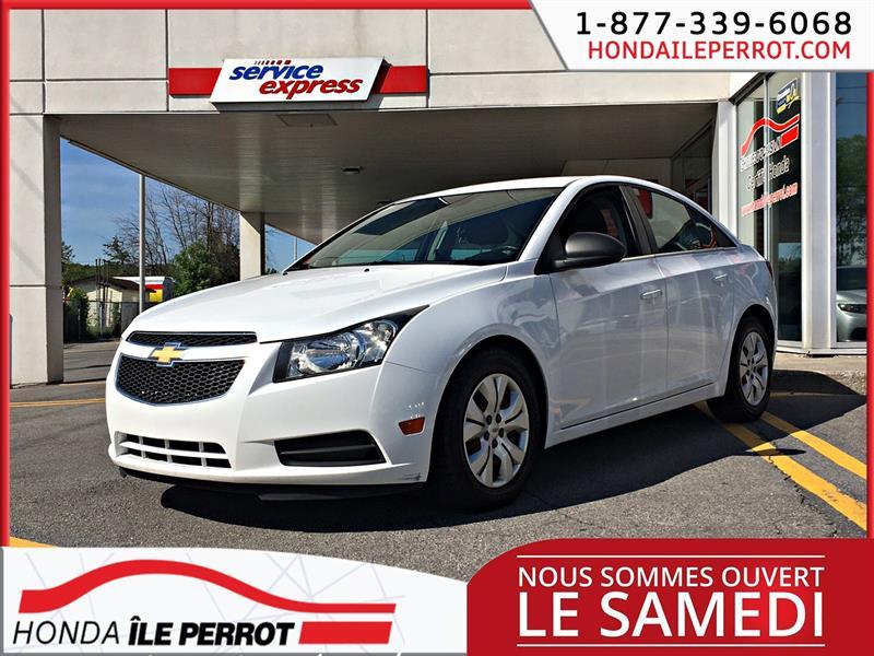 Chevrolet Cruze 2012 4dr Sdn LS+ w-1SB #318665-1