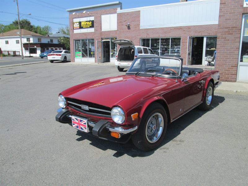 Triumph TR6 1976 #290518