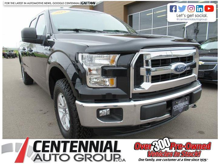 2015 Ford F-150 XLT | 5.0L V8 4x4 | SuperCrew 157 #U505