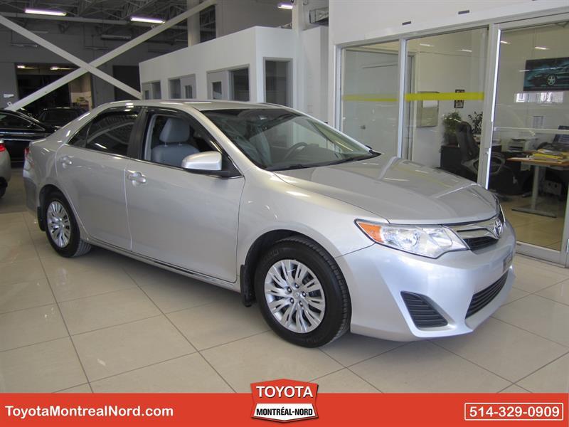 Toyota Camry 2012 LE Aut/Ac/Vitres,Portes,Miroirs Electriques   #3211 E
