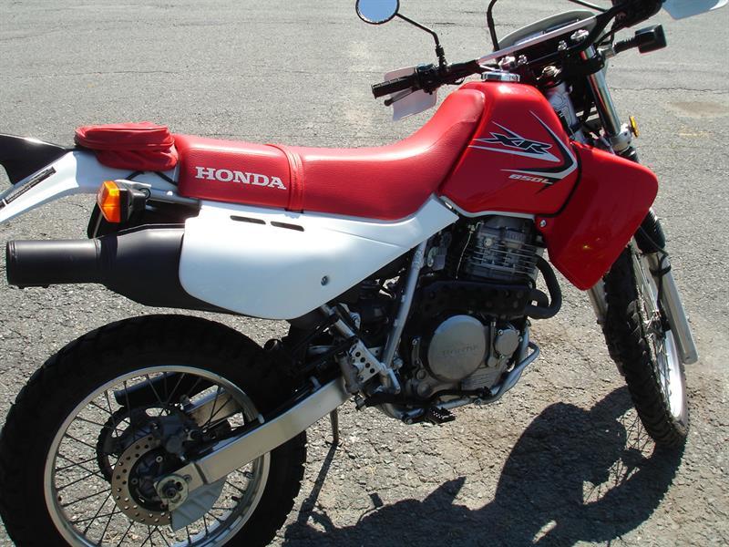 Honda XR650L (Semi-Route-Semi-Trail) 2014
