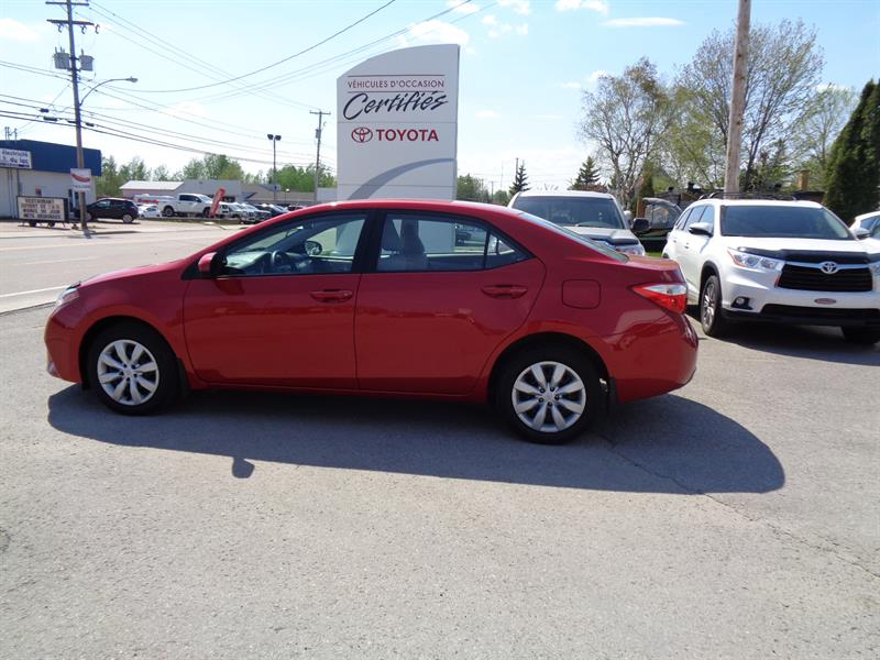 Toyota Corolla 2014 4dr Sdn #11832A