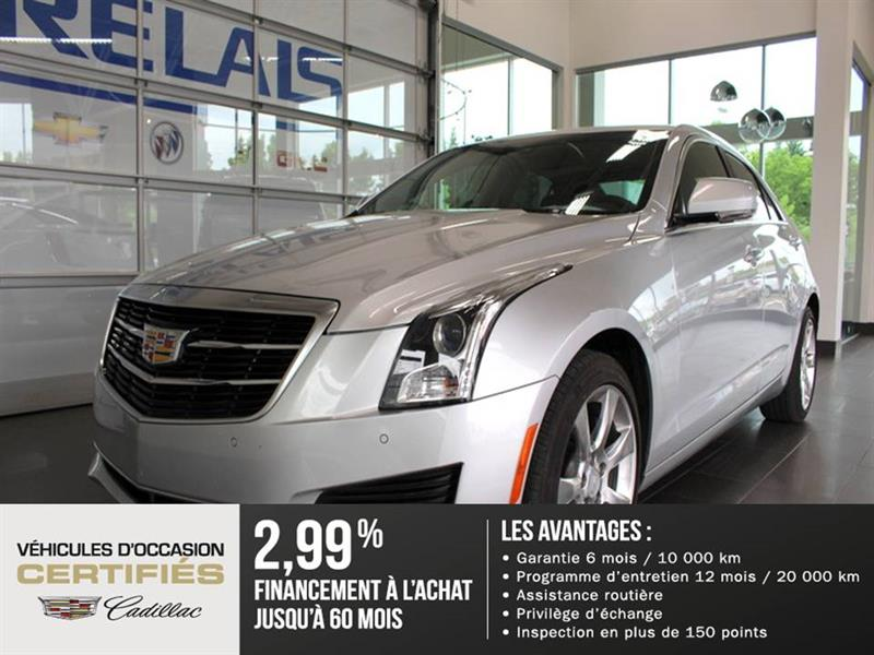 Cadillac ATS Sedan 2015 LUXURY - CUIR - CAMÉRA #82088