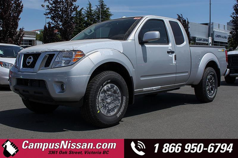 2018 Nissan Frontier PRO-4X #8-T552