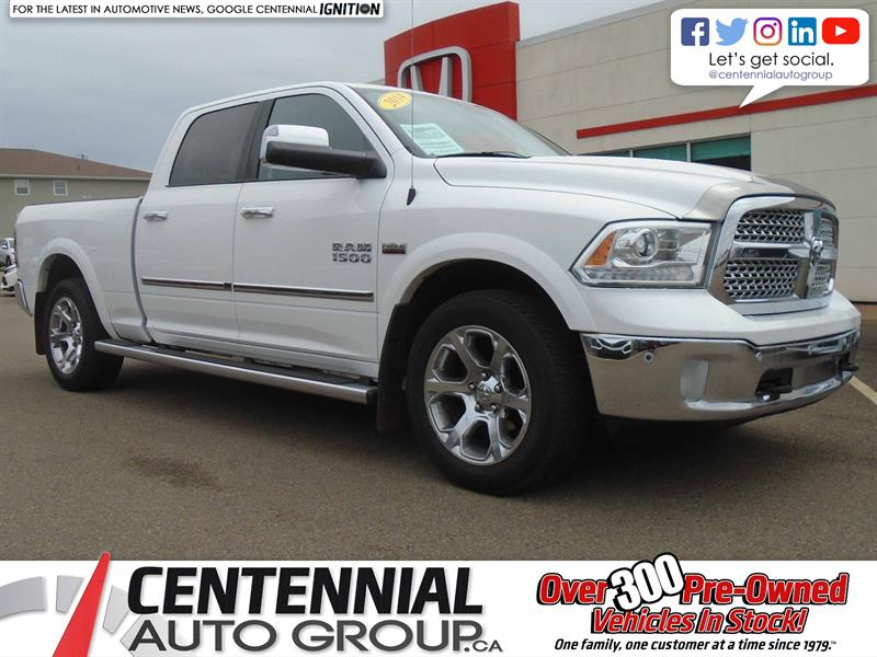2014 Ram 1500 Laramie | 4WD | Crew Cab | Air Suspension |  #U1703
