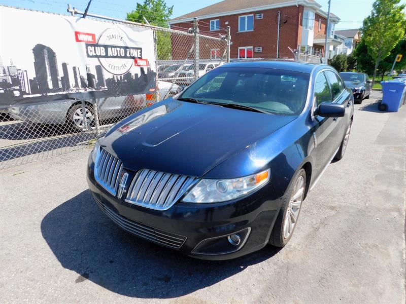 Lincoln MKS 2009 AWD NAVIGATION BLUETOOTH #9G612601
