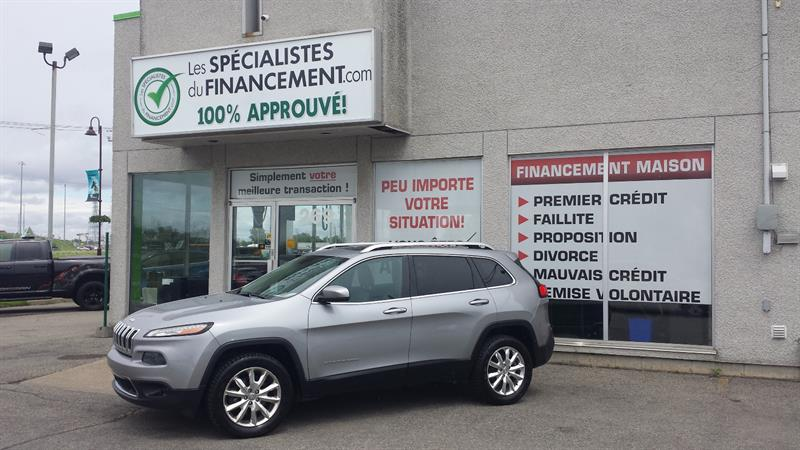 Jeep Cherokee 2014 4WD 4dr Limited #18-002