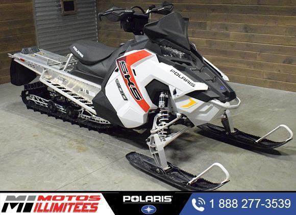 Polaris 800 SKS ES 155  Balance de Garantie 2017
