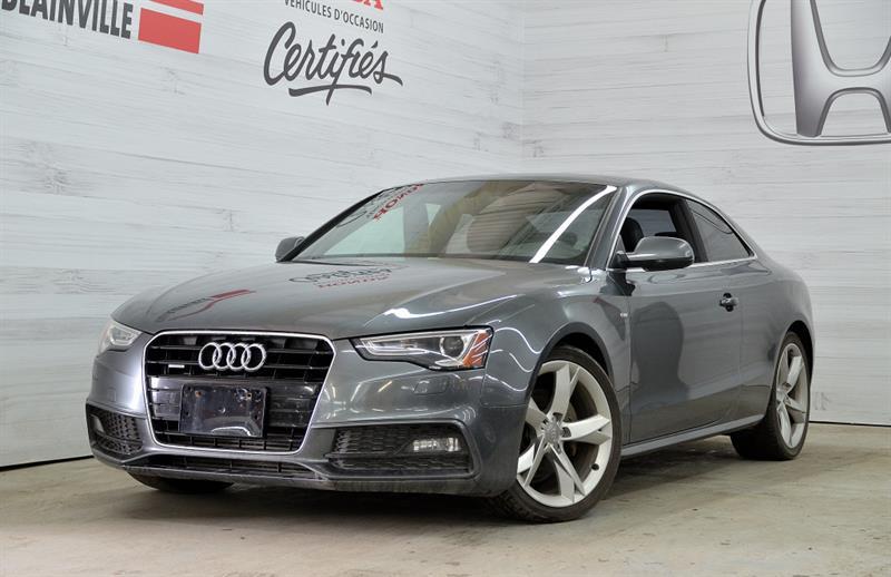 Audi A5 2013 2 Portes Coupé Automatique Premium #u-0953a
