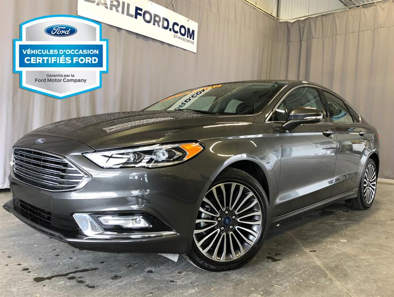 Ford Fusion 2017 4dr Sdn SE AWD #c6735
