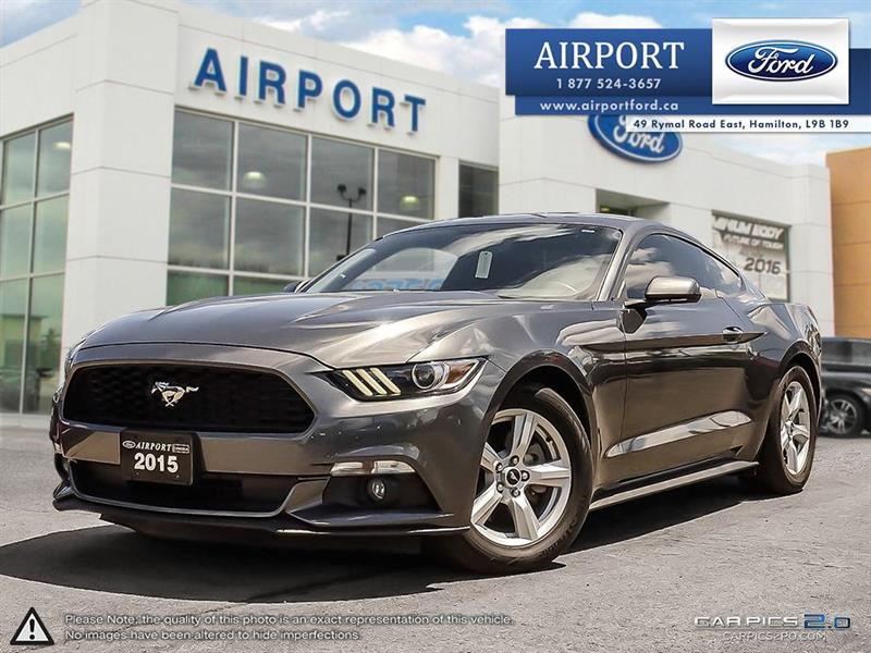 2015 Ford Mustang Fastback V6 with only 26,605 kms #A80563