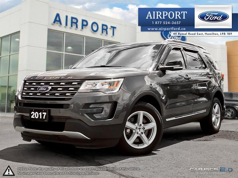2017 Ford Explorer XLT 4WD with only 51,285  #A80579