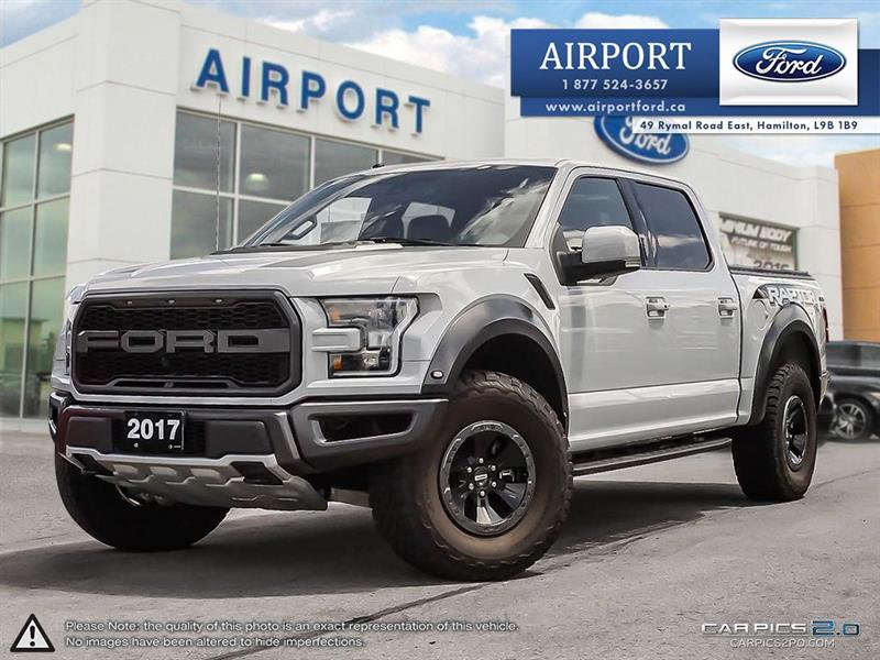 2017 Ford F-150 4WD !!! RAPTOR !!! with only 27,483 kms #00H848