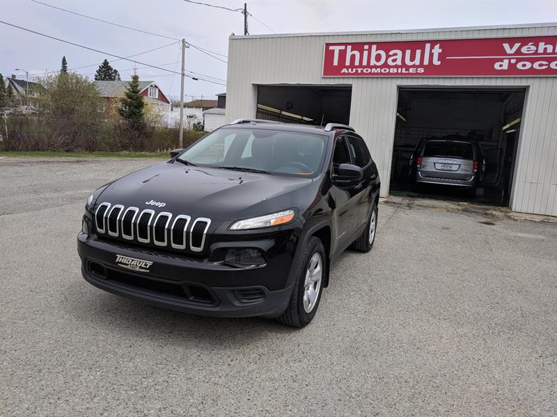 Jeep Cherokee 2015 4WD 4dr Sport #14560A