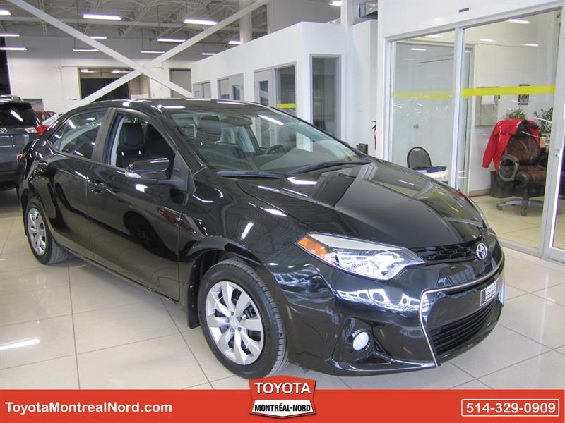 Toyota Corolla 2014 S Man/Ac/Vitres,Portes,Miroirs Electriques #3209 AT