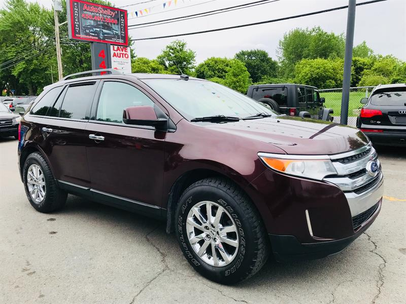 Ford EDGE 2011 SEL AWD-Navigation-Jamais Accidentée #94633-2
