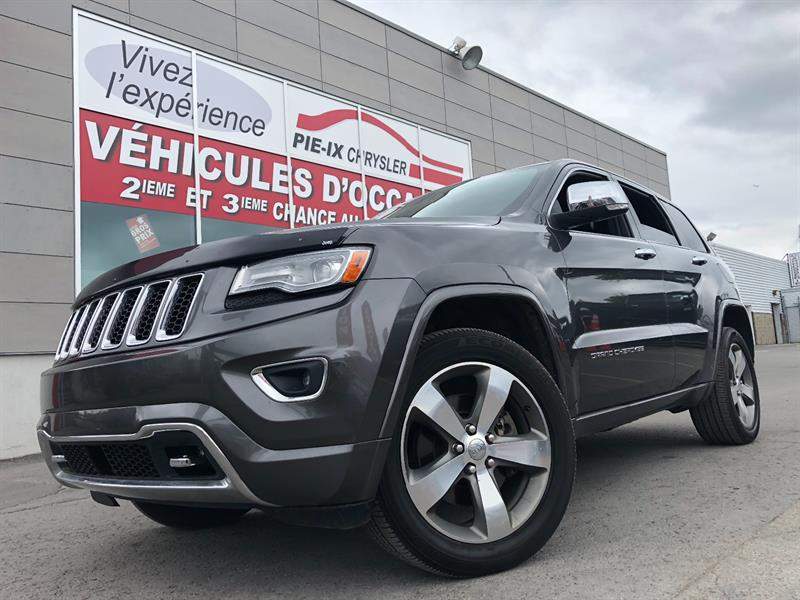 Jeep Grand Cherokee 2014 4WD 4dr Overland+CRUISE ADAPTATIF+FULL EQUIPÉ+V8++ #UD4678