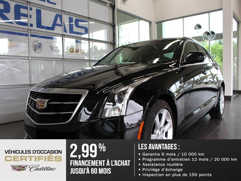 Cadillac ATS Sedan 2015 AWD - A/C - Caméra de recul #82090