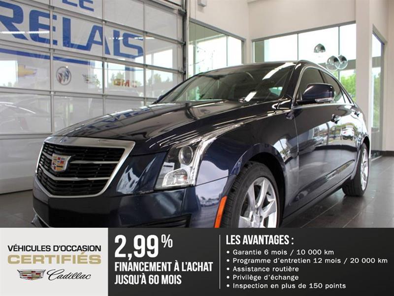 Cadillac ATS Sedan 2015 LUXURY - CUIR - NAV - TOIT OUVRANT #82093