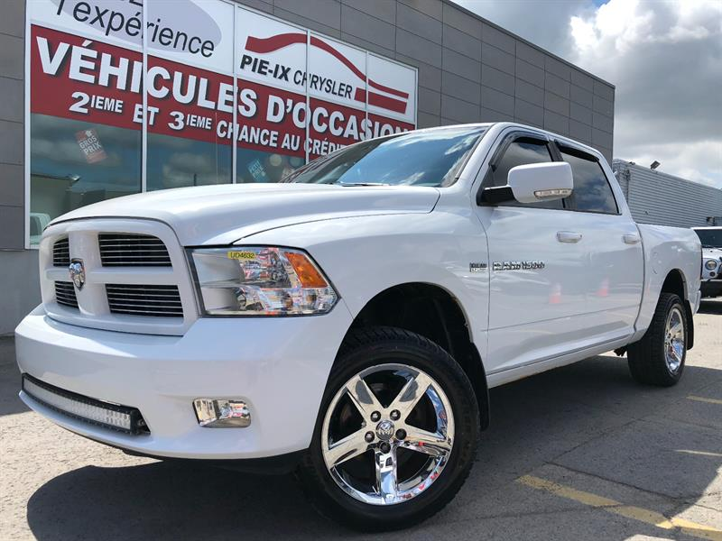 Ram 1500 2012 SPORT+CREW CAB+A/C+MAGS+WOW #UD4632