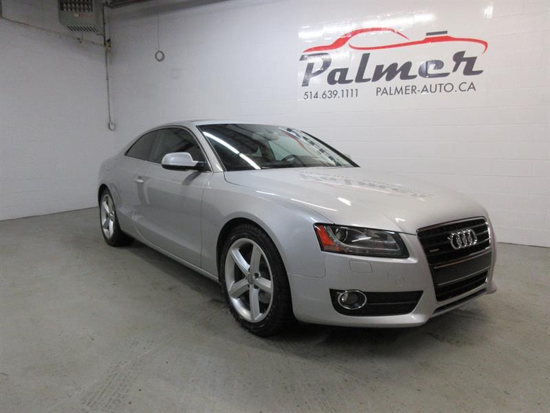 Audi A5 2010 3.2L,QUATRO,TOIT PANO,PARFAITE CONDITION #12-0102-