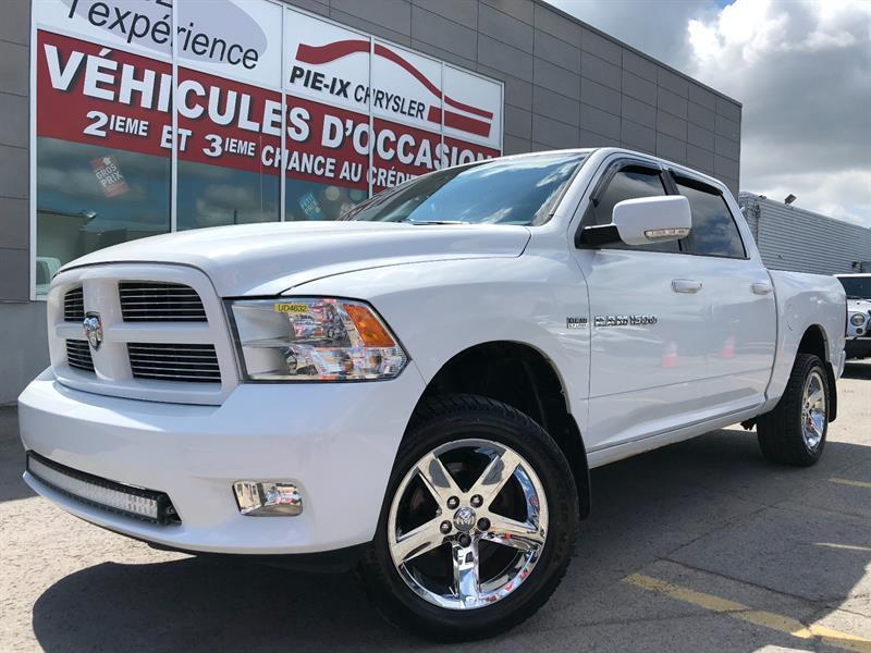Ram 1500 SPORT+CREW CAB+A/C+MAGS+WOW 2012