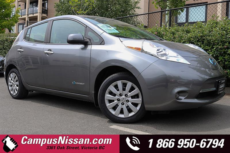 2015 Nissan Leaf S Quick-Charge Hatchback #JN2914
