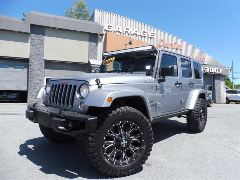 Jeep Wrangler Unlimited 2017 SAHARA UNLIMITED VERSION 75TH ANNIVERSARY 4 PORTES #78037