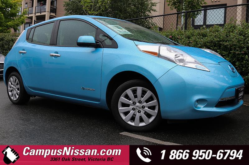 2015 Nissan Leaf S Quick-Charge Hatchback #JN2919