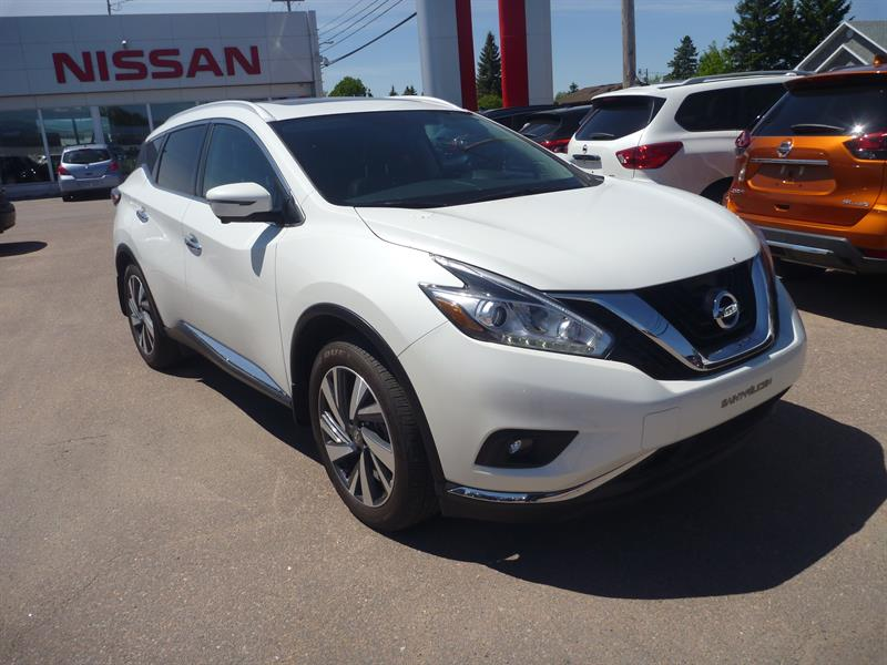 Nissan Murano 2017 AWD 4dr platine #76517A