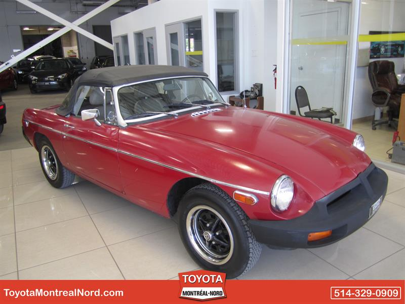 MG MGB 1979 CONVERTIBLE #4034 A
