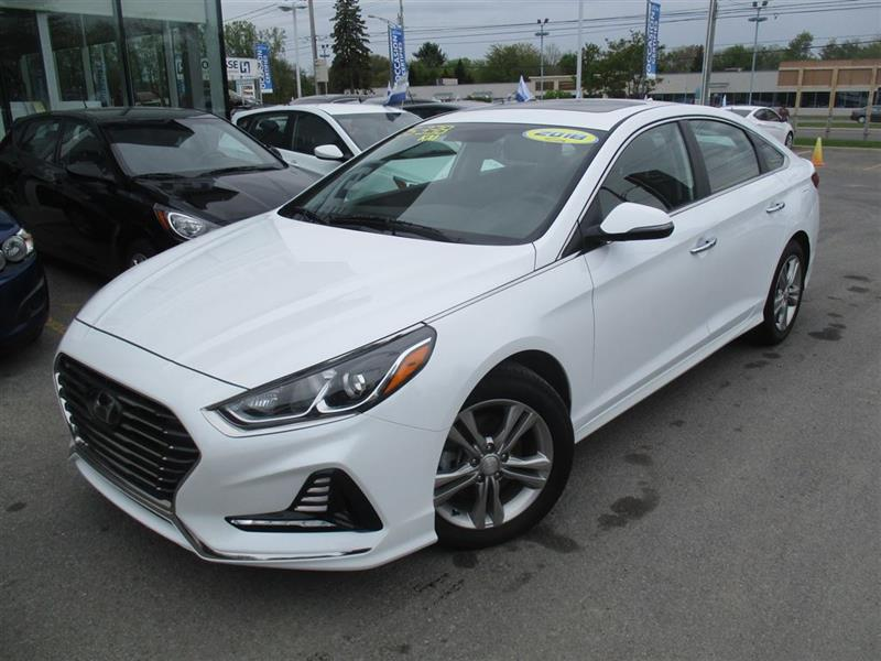 Hyundai Sonata 2018 GLS, APPLE CARPLAY, CUIR, TOIT, MAGS, CAM RECUL #L-0109