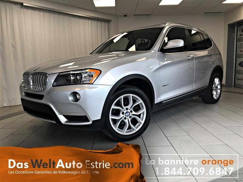 BMW X3 2011 xDrive28i, Cuir, Automatique #76---7310