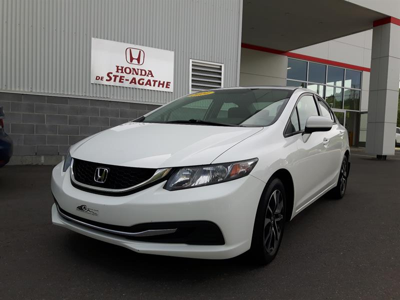 Honda Civic 2014 Man EX Toit ouvrant, Mags, Bluetooth #j177a