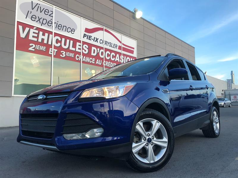 Ford Escape 2016 4WD 4dr SE+TOIT+CUIR+MAGS+BACK CAM+WOW! #UD4647