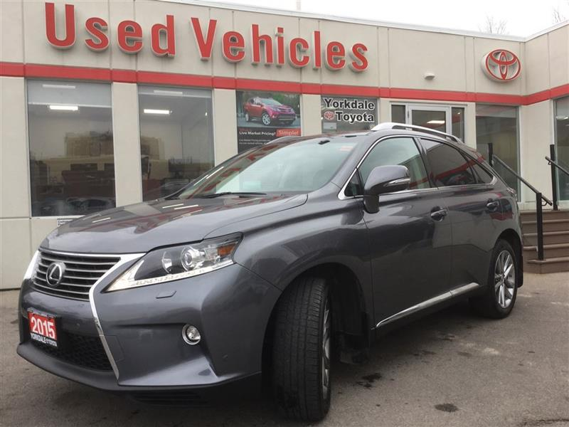 2015 Lexus RX 350 Touring V6- Nav  S.roof  Leather  B.cam  Cruise  A #P7196