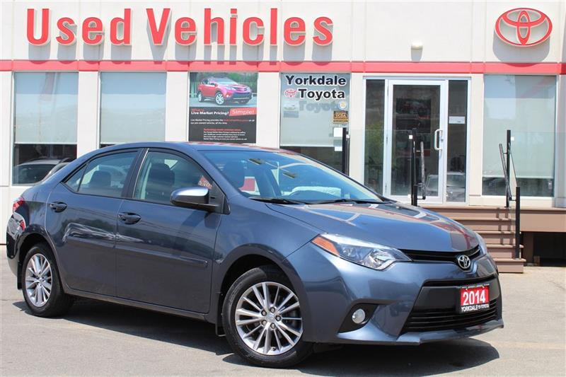 2014 Toyota Corolla LE- Sunroof  Leather  Alloys  Bluetooth  Backup Ca #L7275