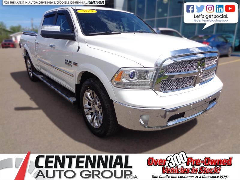 2015 Ram 1500 4WD Crew Cab 149 Laramie Limited *Ltd Avail* #U1080