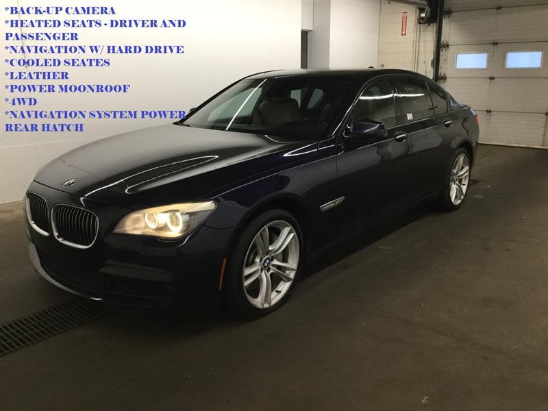 BMW 750I 2012 FINANCEMENT MAISON $ 69 PAR SEMAINE #S1818