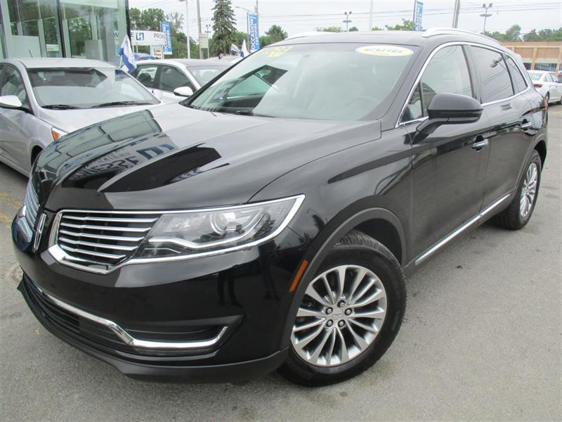 Lincoln MKX 2016 RESERVE AWD CUIR,NAVIGATION,DÉMAR DIST,TOIT PANO #A-2703